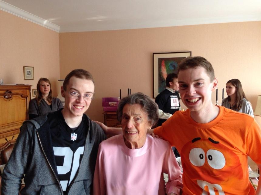 Avec Grand Maman