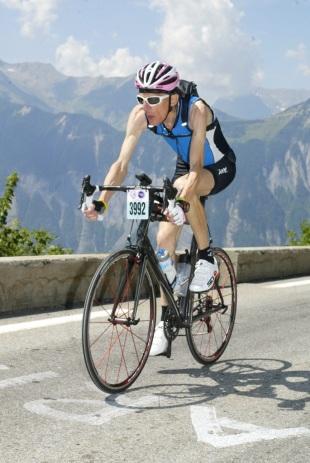 L'étape du Tour 2011, dans la montée de l'Alpe d'Huez