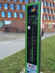Rostock, piste cyclable Copenhagen-Berlin où passent chaque jour 2200 vélos