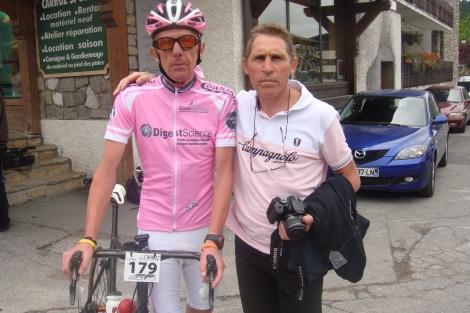 Avec mon grand ami Didier qui ma quitté trop vite