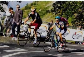 """l'Alpes d'Huez avec """"mio cugino"""" Mauro"""