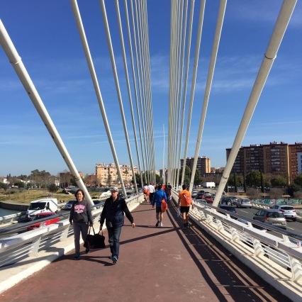 puis un pont sur le Guadalquévir