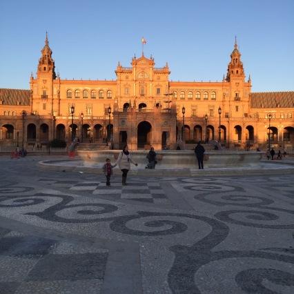 Place d'Espagne. Sublime.