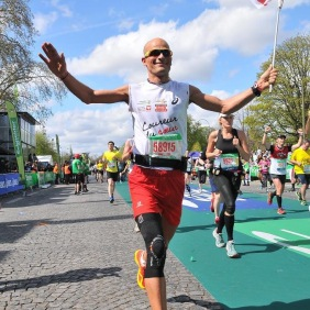 Vincent a relevé le défi de remonter 24000 runners. Bravo Vincent !