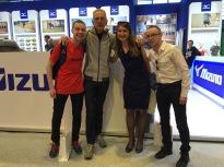 Plaisir de retrouver Oxana, Adrien et Baptiste